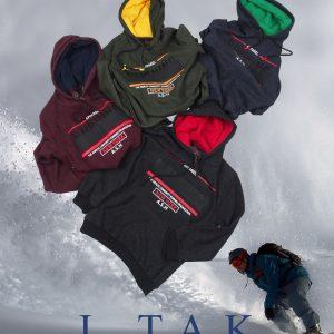 سوئي شرت(هودي) كلاهدار چاپ كاتر پسرانه هودی زمستان 99
