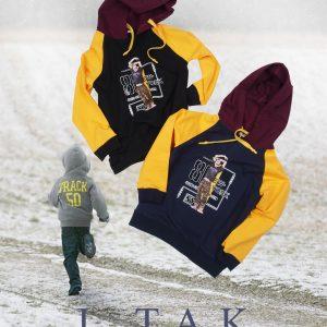 سوئي شرت(هودي)كلاهدار چاپ پسر پسرانه هودی زمستان 99