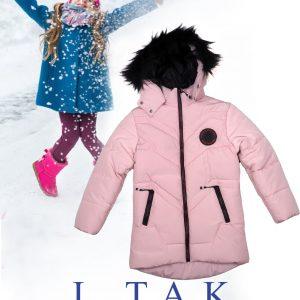 كاپشن دخترانه بلند كلاه خزدار کاپشن دخترانه زمستان 1400