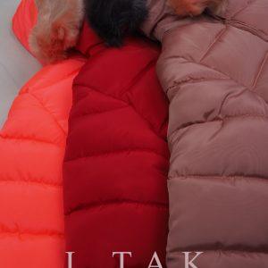 كاپشن دخترانه كلاهدار منگوله دار کاپشن دخترانه زمستان 1400